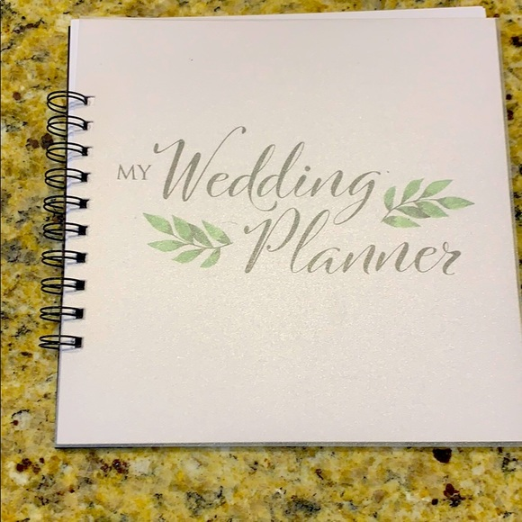 New Not Used Wedding Planner